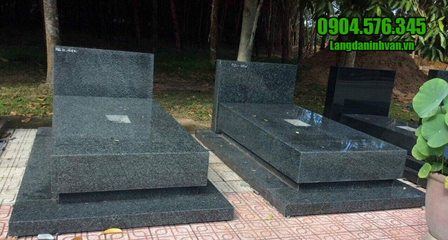 mẫu mộ đá granite nguyên khối đẹp nhất