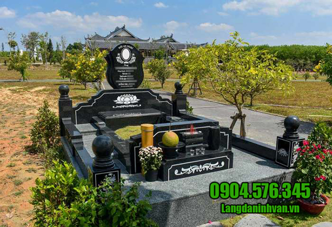 mẫu mộ bằng đá granite đẹp nhất