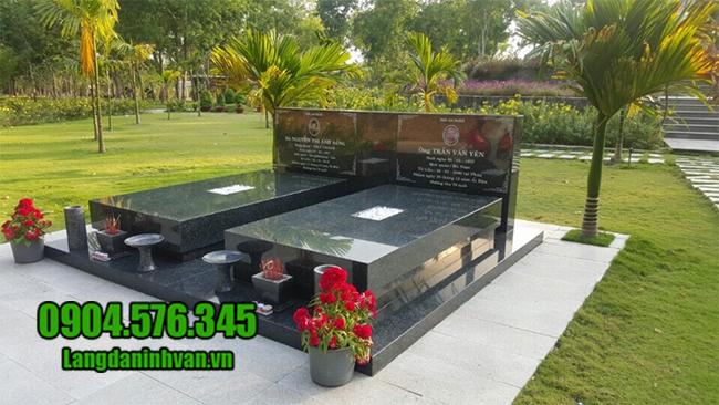 mẫu mộ bằng đá granite đẹp