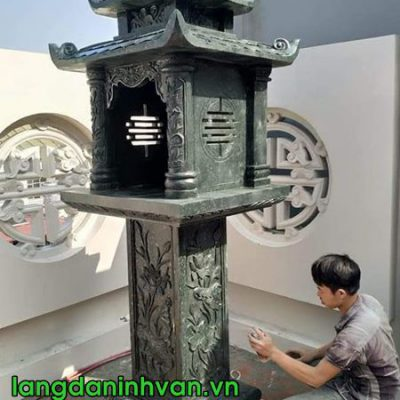 bàn thờ thiên bằng đá xanh rêu đẹp