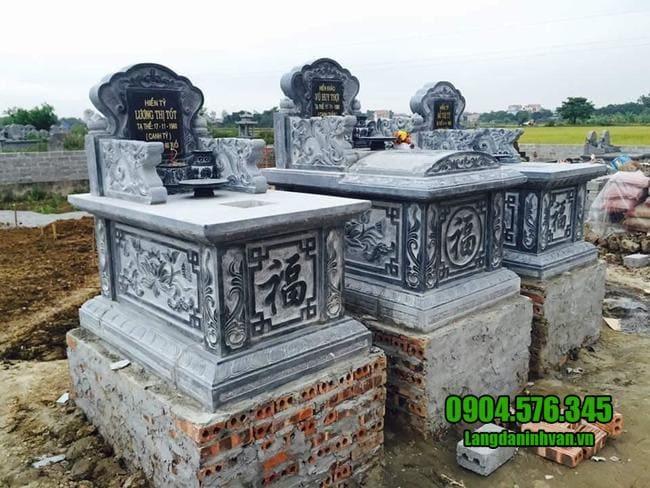 mẫu mộ bành đá đẹp tại bình phước