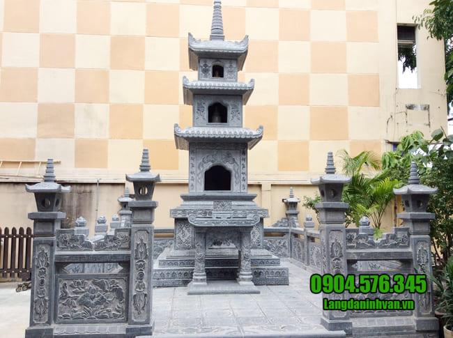 mẫu mộ tháp đá đẹp tại bình phước