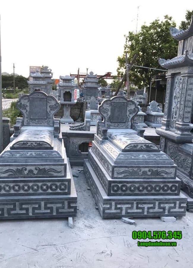 mộ đá bành đẹp tại bình phước