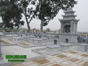 mẫu khu lăng mộ bằng đá đẹp nhất tại Quảng Nam
