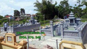 khu lăng mộ đá gia đình bằng đá đẹp tại hà nội