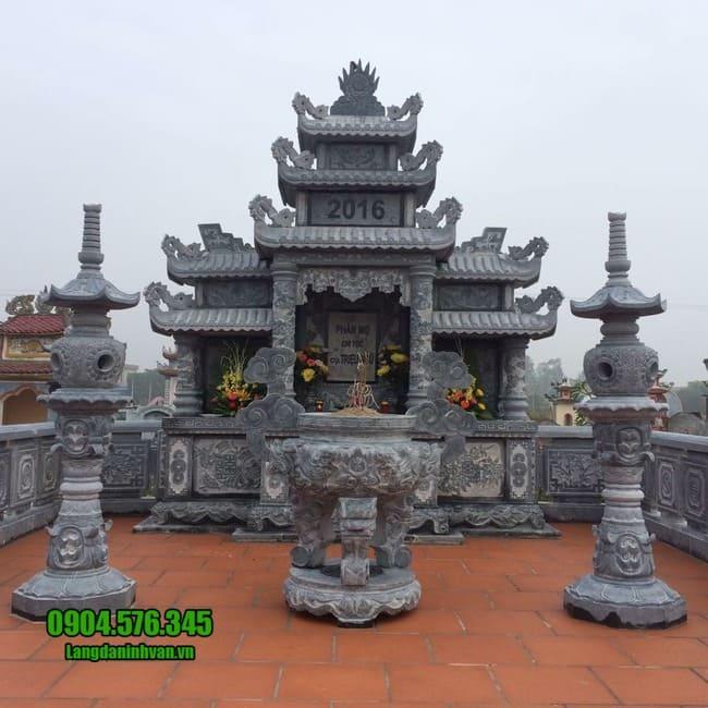 mẫu lăng mộ đá tại Quảng Trị