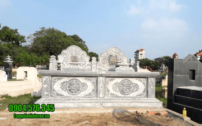 mộ đá đôi đẹp tại Đà Nẵng
