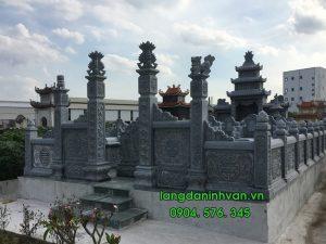 33 Mẫu lăng đá - mộ đá - khu lăng mộ bằng đá xanh tự nhiên đẹp