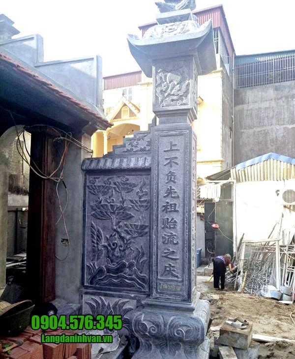 cột đồng trụ đá nhà thờ đẹp nhất