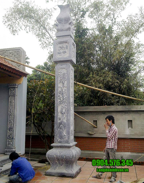 mẫu cột đồng trụ đá nhà thờ đẹp