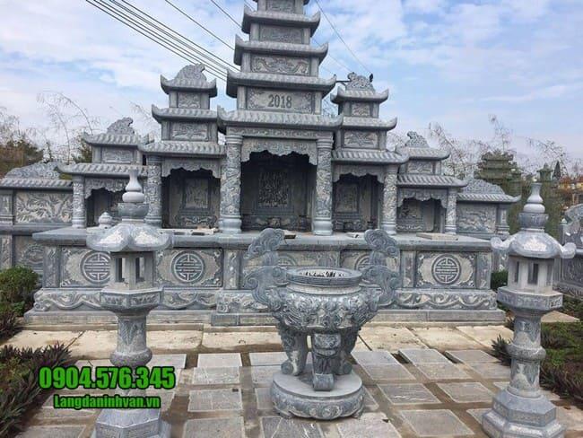 mẫu khu lăng mộ bằng đá đẹp nhất tại Đà Nẵng