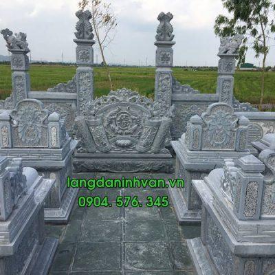 Mẫu khu lăng mộ đá đẹp giá rẻ được lắp đặt nhiều nhất trên toàn quốc