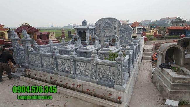mẫu khu lăng mộ đá tại Đà Nẵng đẹp