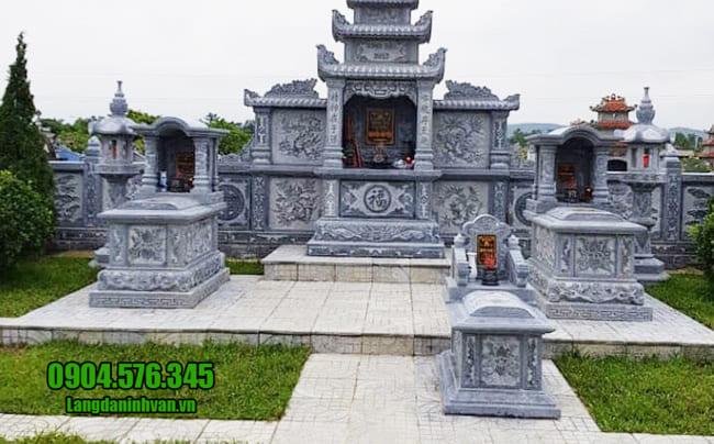 mẫu khu lăng mộ đá tại Đà Nẵng
