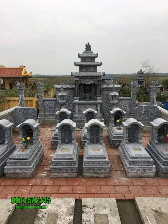 mẫu lăng mộ đá tại Đà Nẵng
