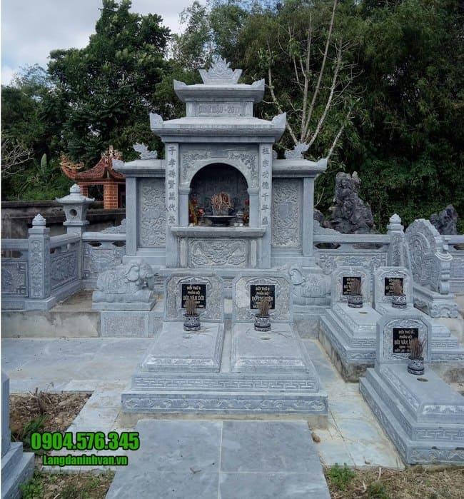 mẫu lăng mộ tại Huế