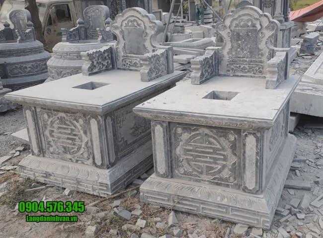 mẫu mộ đá tam sơn