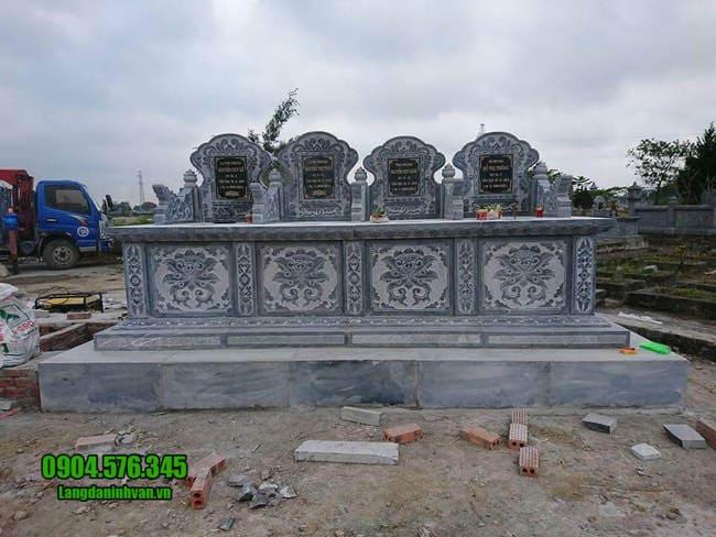 mẫu mộ tam sơn bằng đá xan đẹp