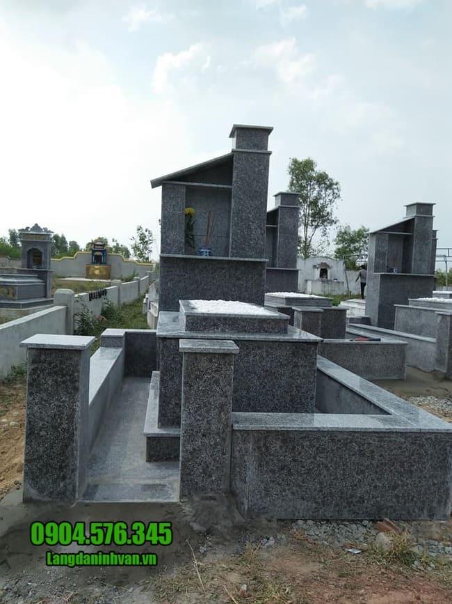 mộ đá hoa cương đẹp nhất
