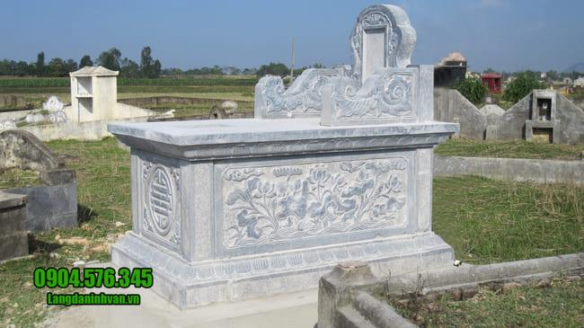 mộ tam sơn bằng đá