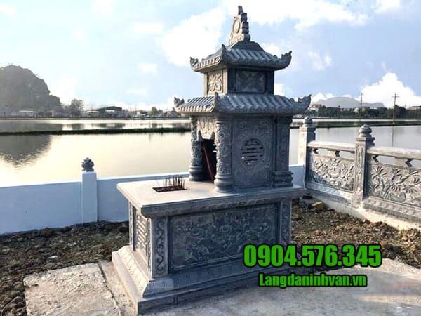 Địa chỉ thiết kế, lắp đặt mộ đá hái uy tín tại Ninh Vân