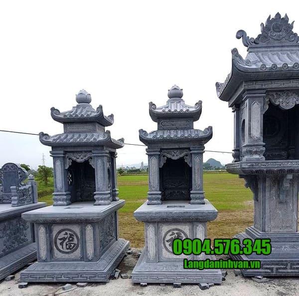 Một số mẫu mộ đá hai mái đang được ưa chuộng nhất hiện nay