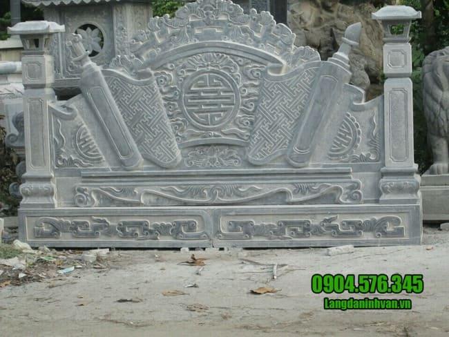 mẫu cuốn thư bằng đá đẹp giá rẻ tại Lạng Sơn