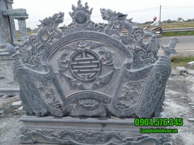 mẫu cuốn thư bằng đá tại Sơn La đẹp nhất