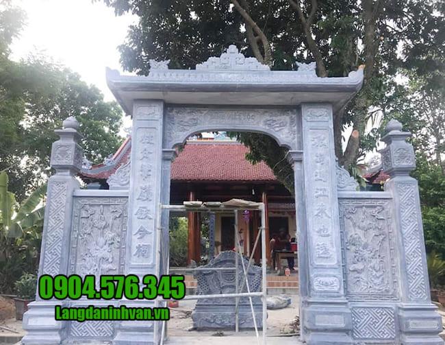 Các mẫu cổng nhà thờ họ đẹp tại Hà Nội