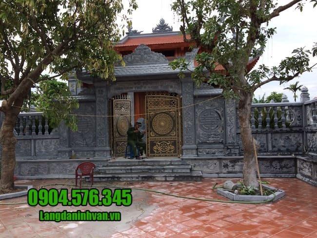 cổng nhà thờ họ bằng đá tại Hà Nội đẹp nhất