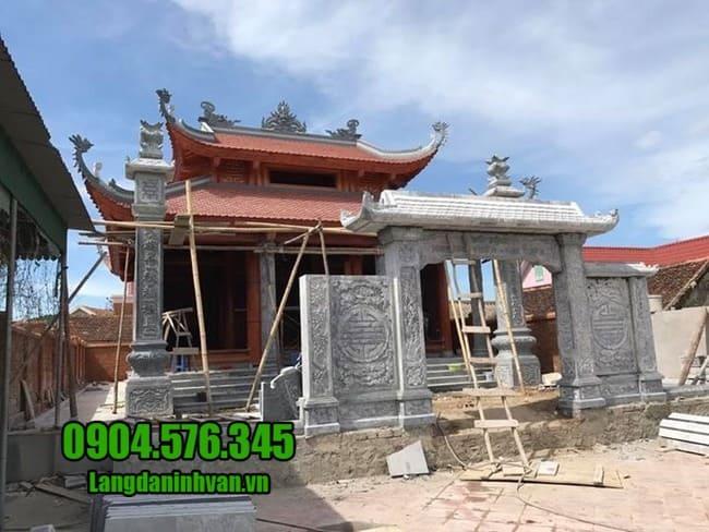 cổng nhà thờ họ tại Hà Nội đẹp