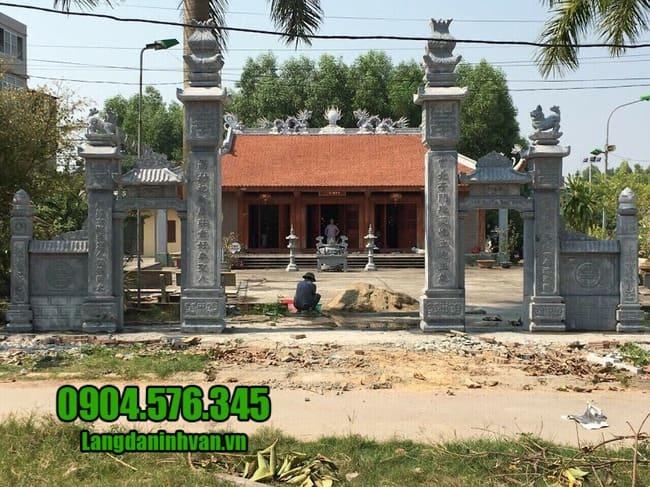 mẫu cổng nhà thờ họ tại Hà Nội đẹp nhất