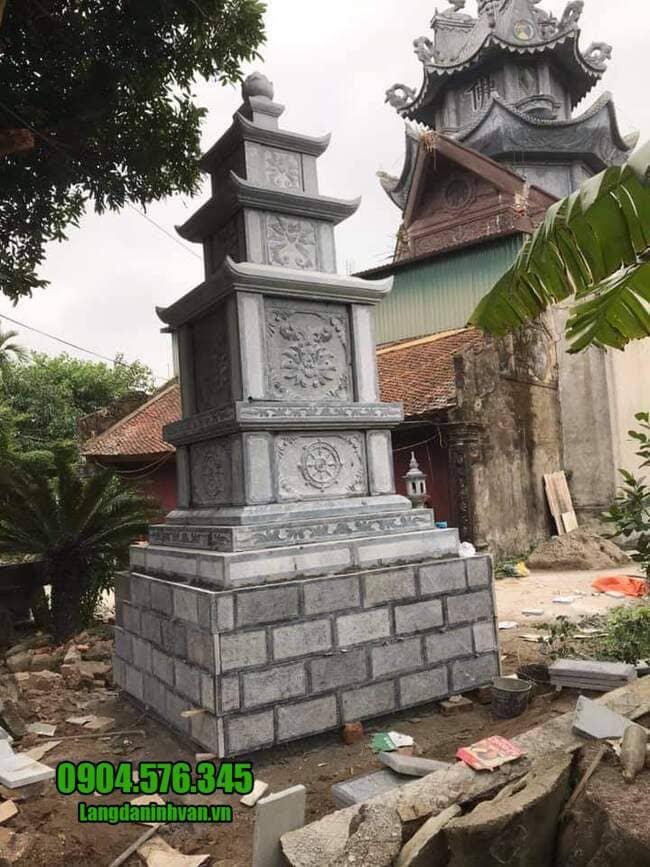 mẫu mộ đá hình tháp tại Phú Yên đẹp nhất
