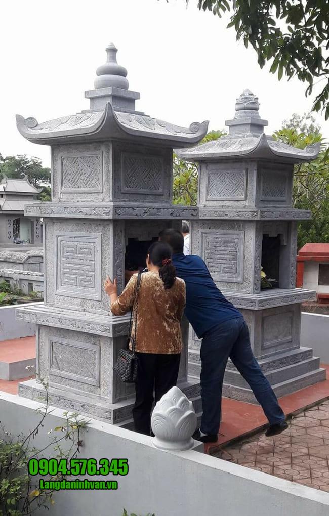 mẫu mộ tháp đá tại Phú Yên đẹp nhất