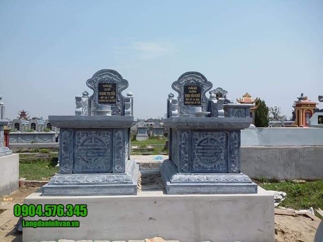 mộ đá đôi đẹp tại Hà Nội