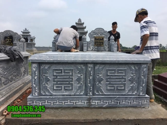 mộ đôi bằng đá tại Hà Nội đẹp nhất