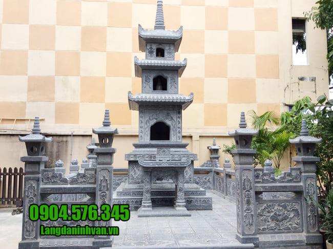 mộ tháp bằng đá tại Phú Yên đẹp nhất