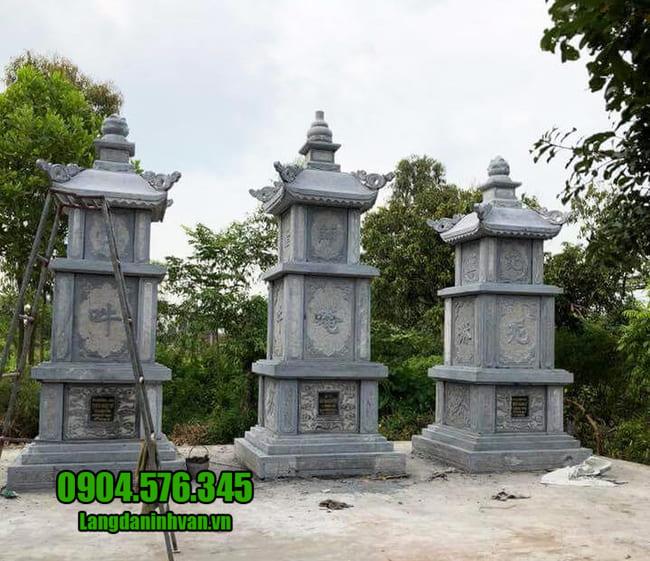 mộ tháp bằng đá tại Phú Yên đẹp