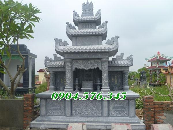 Địa chỉ thiết kế lắp đặt lăng thờ chung khu lăng mộ đá tại an giang
