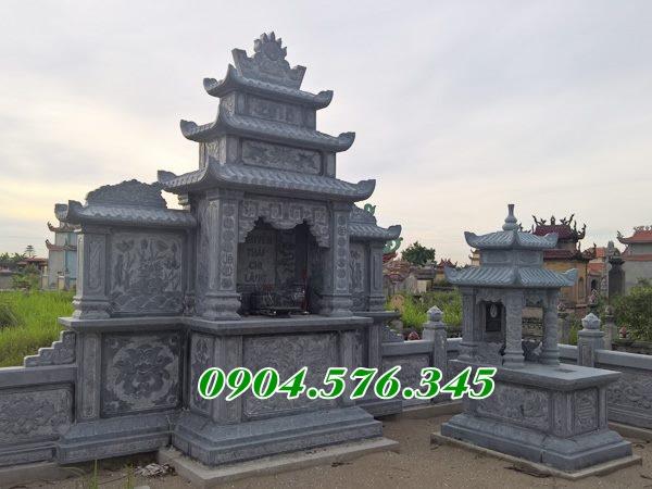 Lăng thờ chung bằng đá tại An Giang