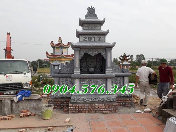 Mẫu lăng thờ khu lăng mộ đá tại an giang