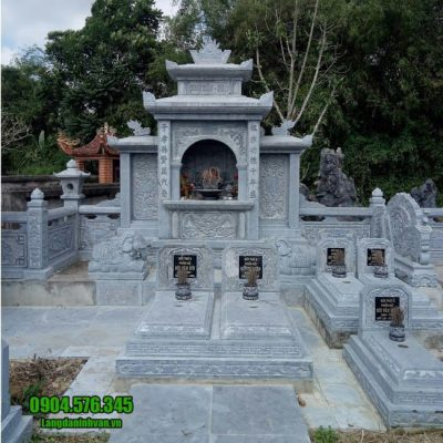 mẫu khu lăng mộ bằng đá đẹp nhất tại Bình Phước