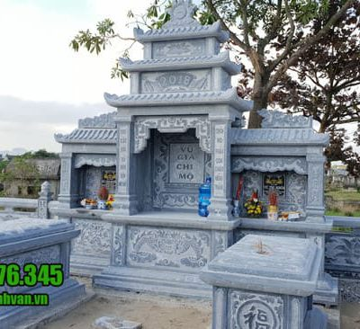 mẫu khu lăng mộ bằng đá đẹp nhất tại Quảng Ngãi