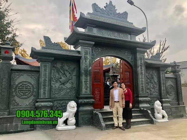 các mẫu cổng nhà thờ họ đẹp tại Vĩnh Phúc