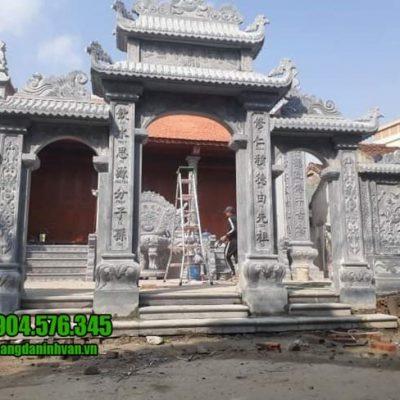 cổng nhà thờ họ tại Vĩnh Phúc