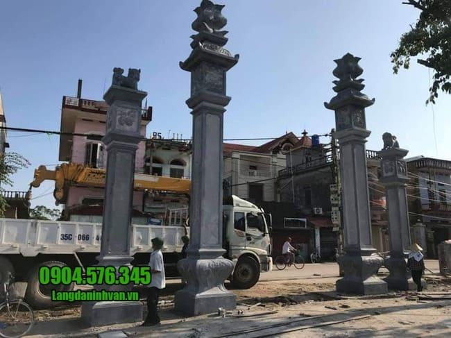 cổng nhà thờ tộc tại Vĩnh Phúc