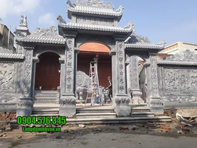 mẫu cổng nhà thờ họ tại Hưng Yên