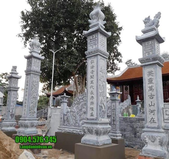 mẫu cổng tam quan bằng đá đẹp nhất tại Hải Phòng