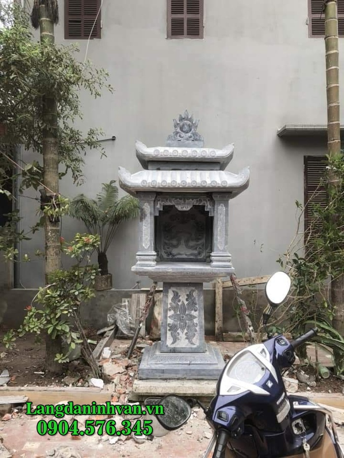 Cây hương đá - Mẫu cây hương bàn thờ thiên ngoài trời bằng đá đẹp