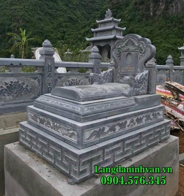 Mộ đá tam cấp - Các mẫu mộ tam cấp đẹp bằng đá tự nhiên